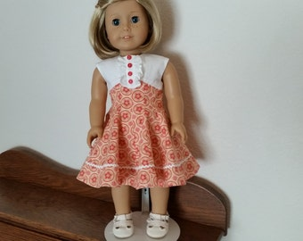 Summer Dress for 18 inch doll