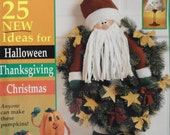 11999  Crafts 'n Things Magazine October Ideas, How-To's, and Tips Fall/Christmas