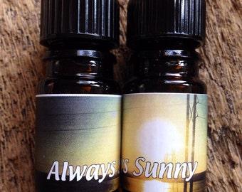 ALWAYS SUNNY- 5mL Perfume Oil- Vegan
