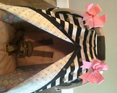 Carseat canopy FREE SHIPPING code today Balck and Gold Arrow