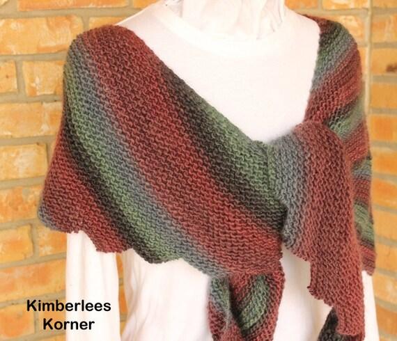 Easy to Knit Shawl Pattern, Knitted Prayer Shawl Patterns ...