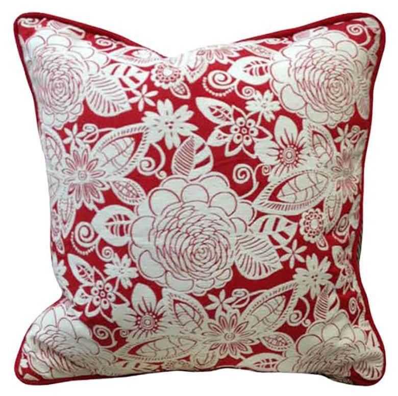Affordable Decorative Throw Pillows : Red Pillow Best Pillows Cheap Throw Pillows by SPCustomDrapery