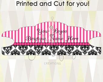 25 Designer Design Headband Display Cards