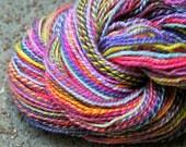 Sock Spun Falkland Wool Sock Yarn 2 Ply - 1