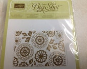 Last one-  Stamping Up Big Shot Embossing Folder  Lovely Lace