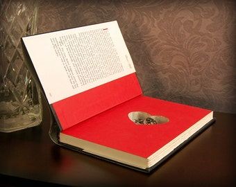 Hollow Book Safe with Heart (True Love)