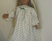 Winter Flannel Nightie American Girl 18 Inch Doll