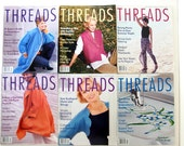 1998 Threads Magazines, No 81 to 86 with Index