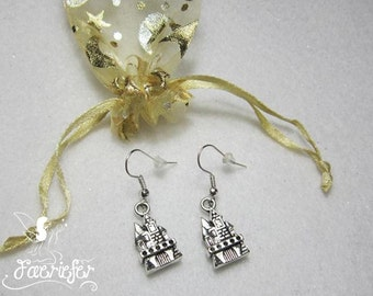 Fairy tale castle earrings