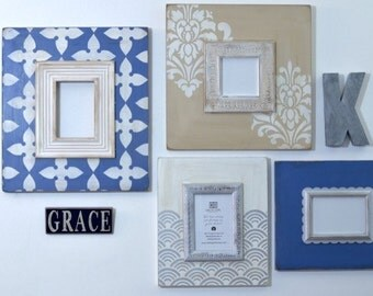 Blue French Neutral Collection - 4 piece