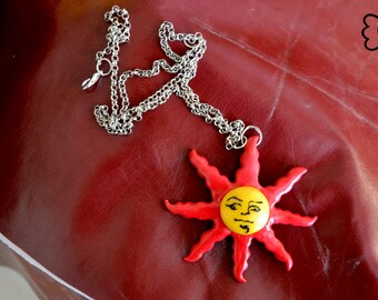 Solaire of Astora: PRAISE THE SUN necklace!!
