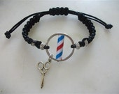 Barber Pole Bracelet, New Model Barber Pole