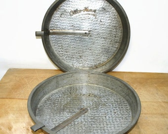 Items Similar To Vintage Bake King Cake Pans On Etsy
