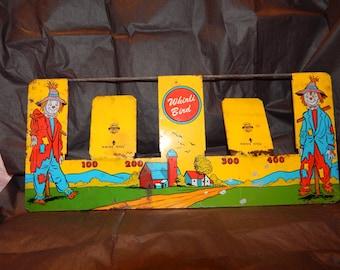 Antique Ohio Art Tin Game '' Whirli Bird'' 1950s, Tin Litho , Fall Festival Arcade Shooting Game
