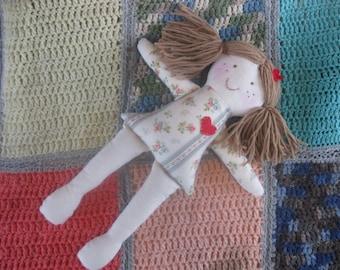 Rag Doll/Cloth Doll/Fabric Doll/eco toy