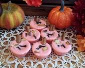 Pumpkin Wreath Soy Tarts, Soy Melts, Soy wax, Fall Tarts, Winter Tarts