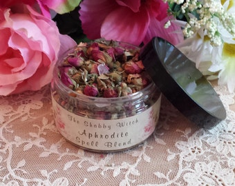 Goddess Aphrodite Herbal Blend, Fill Sachet Bags, Gris Gris Bags