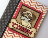 PERSONALIZED Composition Book - Dog Lover - Pug
