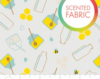 Scented Fabric by Camelot Fabrics - Honey Milk