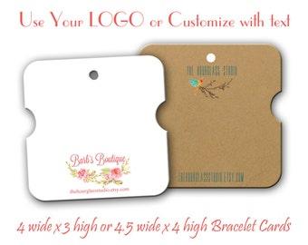 Bracelet Cards, Jewelry Holders, Display Cards, Bracelet Display