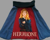 Upcycled Hermione Skirt Girls Size 8/10