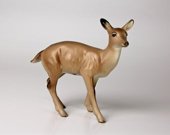 Lefton Figurine Doe Deer - Ceramic 1321