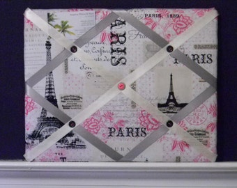 11 x 14 Paris Memory Board