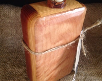 Maple and Redwood Flask