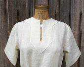 linen ladies early medieval viking tunic shirt for sca larp or renaissance faire  -Ready to Ship-