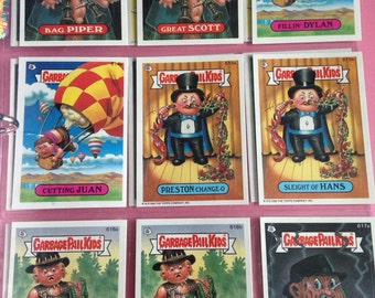 1985 Garbage Pail Kids trading card with YOUR NAME