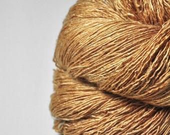 Too much caramel cake - Tussah Silk Fingering Yarn