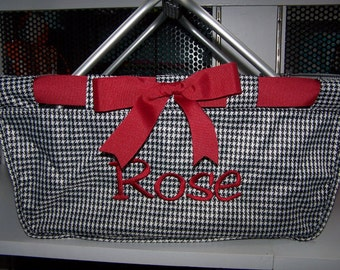 TAILGATE Game Day Market tote hounds tooth Alabama