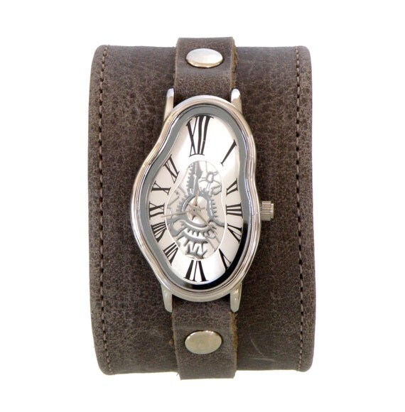 wide band s leather fashion