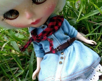 Clearence Dis30% Country sweet Dress for Blythe,Puliip and to custom size