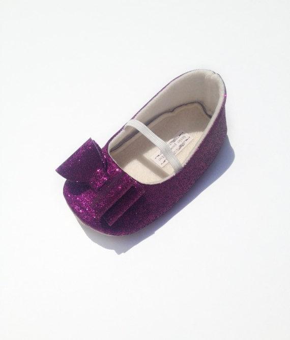 Toddler Eggplant Dress Shoes