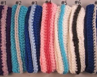 Handmade Crochet Headbands,Ear Warmers