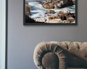 Seascape, Fine Art Photography, Ocean Photo, Nature Art Print, Beach Decor, Waves Beach, Ocean Art, Ocean Print, Wall Art Prints, Nautical