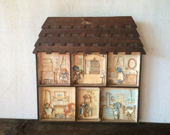 Vintage Holly Hobbie House // Toy Collectible // Holly Hobbie Collectible