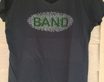 Band Rhinestone Shirts - Perfect for all band events!