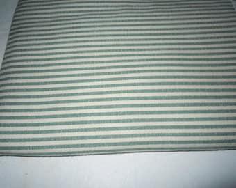 Vintage cotton Ticking Fabric