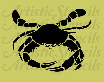 Crab STENCIL 8x6.5