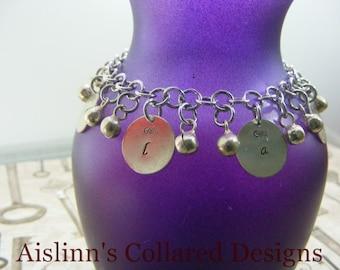 Slave Bell Charm Bracelet