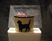 Dog Sponge Holder - Reserved for Karen