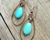 Boho Jewelry Turquoise Earring Boho Earrings Bohemian Jewelry