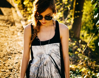 Forest #1 Organic Tunic Vest Top