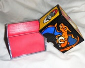 CUSTOM DECK BOX - Made to Order for Pokemon Card Deck - Charizard - Hand Painted