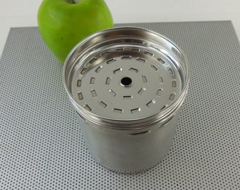 Farberware Coffee Superfast Stainless Percolator - Used Replacement Part - 12 Cup Basket & Lid