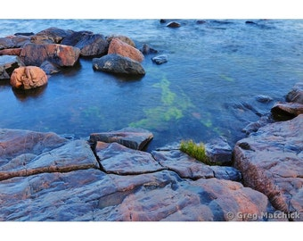 Fine Art Color Photography of the Suomenlinna Island Coastline Along the Baltic Sea in Finland