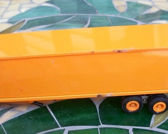 Vintage Winross Metal Yellow Trailer