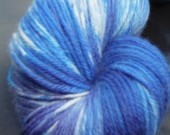 Merino/Cashmere/Nylon Special Delivery Sock Yarn 435 yds -Blue Jeans